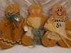 Gingerbread Men Wooden Signs